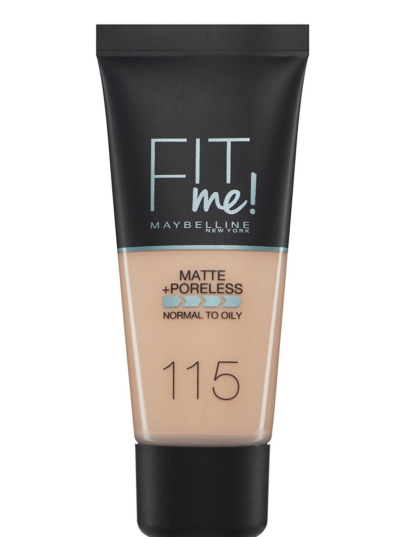 Maybelline Fit Me Matte + Poreless Foundation 115 Ivory 30ml
