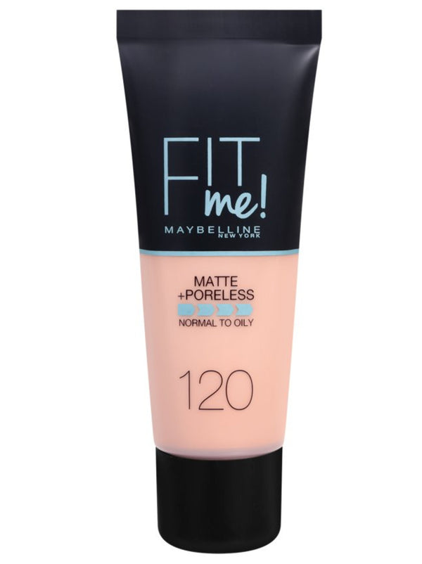 Maybelline Fit Me Matte + Poreless Foundation 120 Classic Ivory 30ml