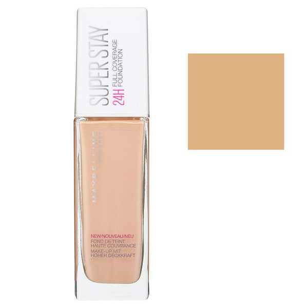Maybelline Super Stay 24H Full Coverage Foundation 010 Ivory 30ml