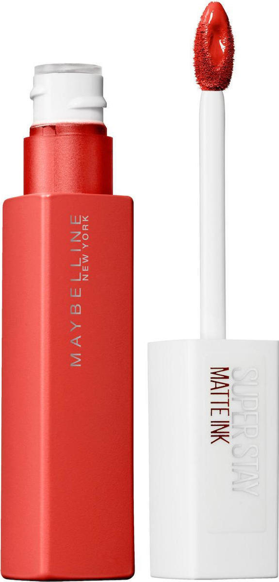Maybelline Super Stay Matte Ink Liquid Lipstick - Ματ Αποτέλεσμα 25 Heroine 5ml