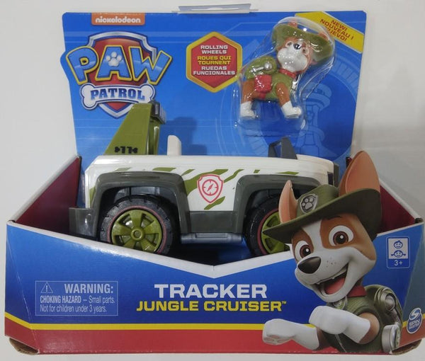 Paw Patrol Tracker Jungle Cruiser Vehicle with Pup 6052310