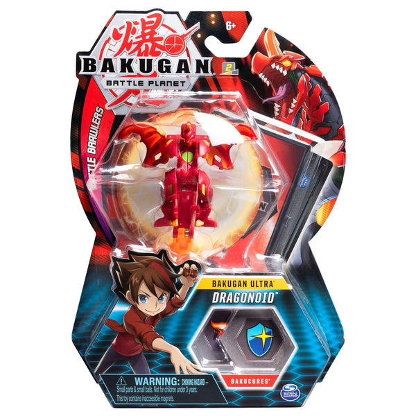 Spin Master Bakugan Battle Planet: Battle Brawlers - Bakugan Ultra Dragonoid Ball Pack (20109016)