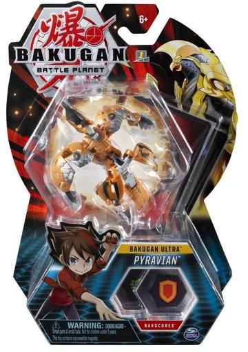 Spin Master Bakugan Battle Planet: Battle Brawlers - Bakugan Ultra Pyravian Ball Pack (20114720)