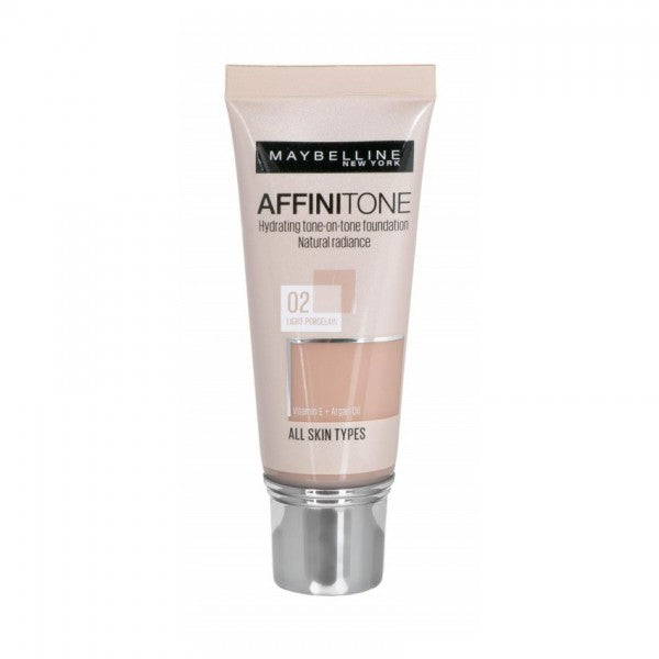 Maybelline Affinitone Perfecting & Protecting Foundation 02 Light Porcelain ΥΓΡΟ ΜΕΪΚ ΑΠ 30ml