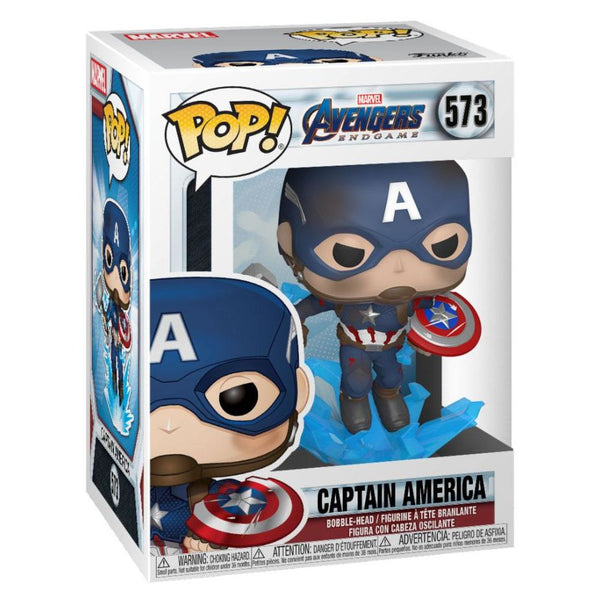Funko Pop! Marvel: Avengers Endgame - Captain America 573 Vinyl Figure 45137
