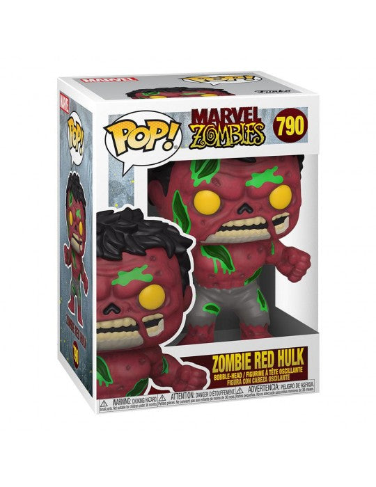 Funko Pop! Marvel Zombies - Red Hulk #790 Vinyl Figure 54474