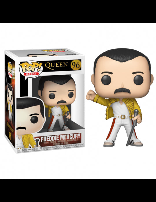 Funko Pop! Queen Freddie Mercury Wembley 1986 #96 Vinyl Figure 33732