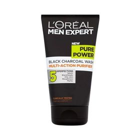 L'Oreal Men Expert Purpower Charcoal Gel Καθαρισμού Προσώπου 150ml