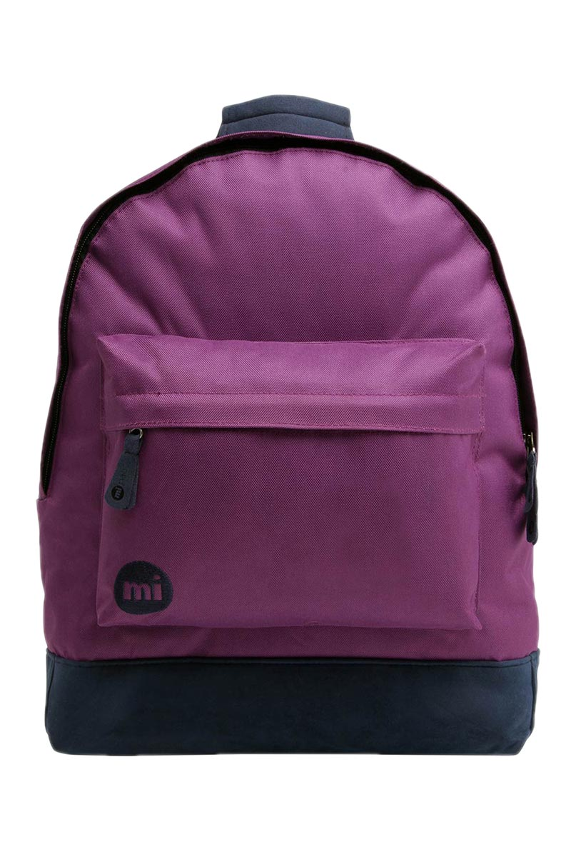 Mi-Pac Backpack Classic Deep Purple/Navy 740001 A05