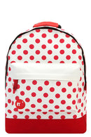 Mi-Pac Backpack All Polka Grey/Red 740199 A04