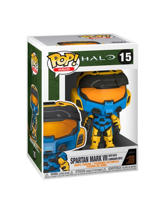 Funko POP! Halo - Spartan Mark VII with VK78 Commando Rifle #15 Vinyl Figure ΦΙΓΟΥΡΑ ΒΙΝΥΛΙΟΥ