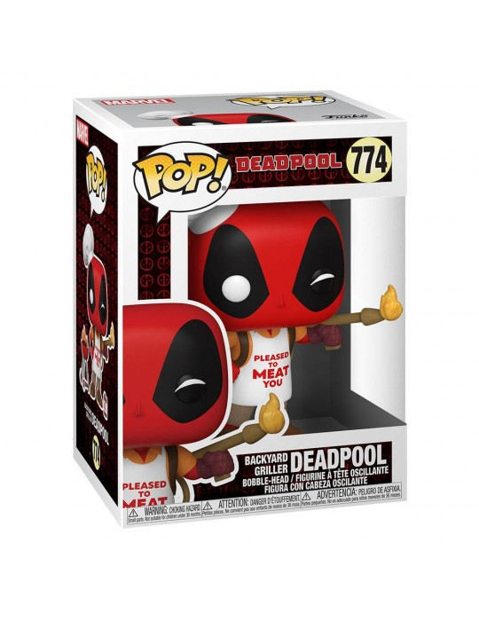 Funko Pop! Deadpool 30th Anniversary - Backyard Griller Deadpool #774 Vinyl Figure 54652