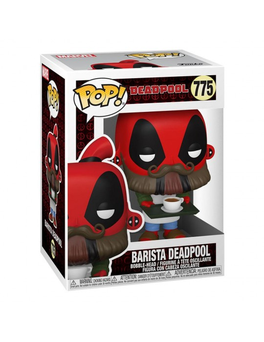 Funko Pop! Marvel: Deadpool 30th - Coffee Barista #775 Vinyl Figure 54653