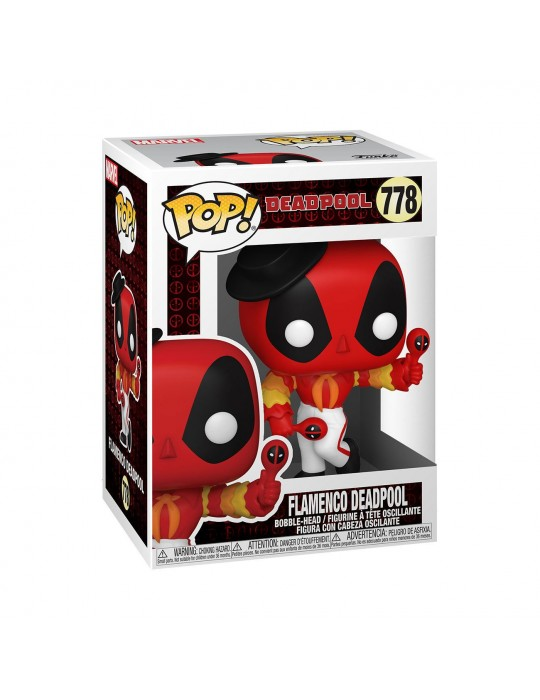 Funko Pop! Marvel: Deadpool 30th - Flamenco Deadpool Vinyl Figure Funko 54656