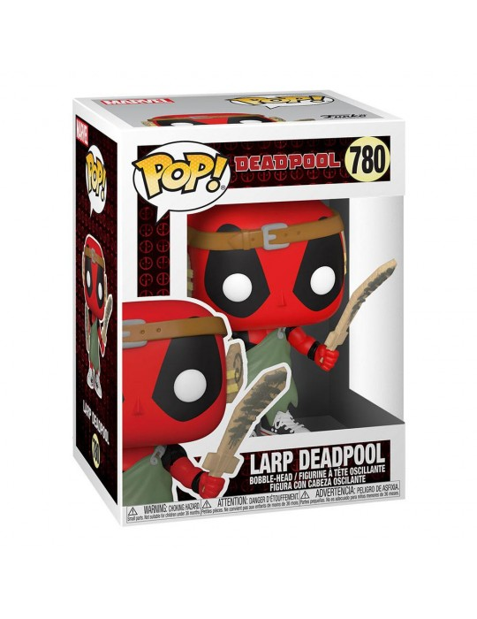 Funko Pop! Marvel: Deadpool 30th - Nerd Deadpool Vinyl Figure 54690