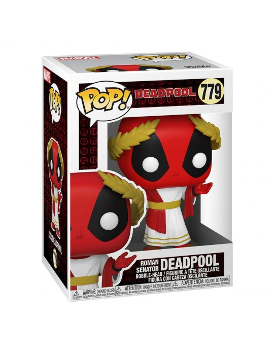 Funko Pop! Marvel: Deadpool 30th - Roman Senator Deadpool #779 Vinyl Figure 54657
