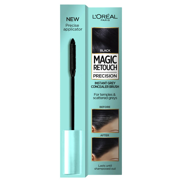 L'Oreal Magic Retouch Precision Grey Concealer Brush ΜΑΣΚΑΡΑ ΚΑΛΥΨΗΣ ΛΕΥΚΩΝ ΡΙΖΩΝ 8ml
