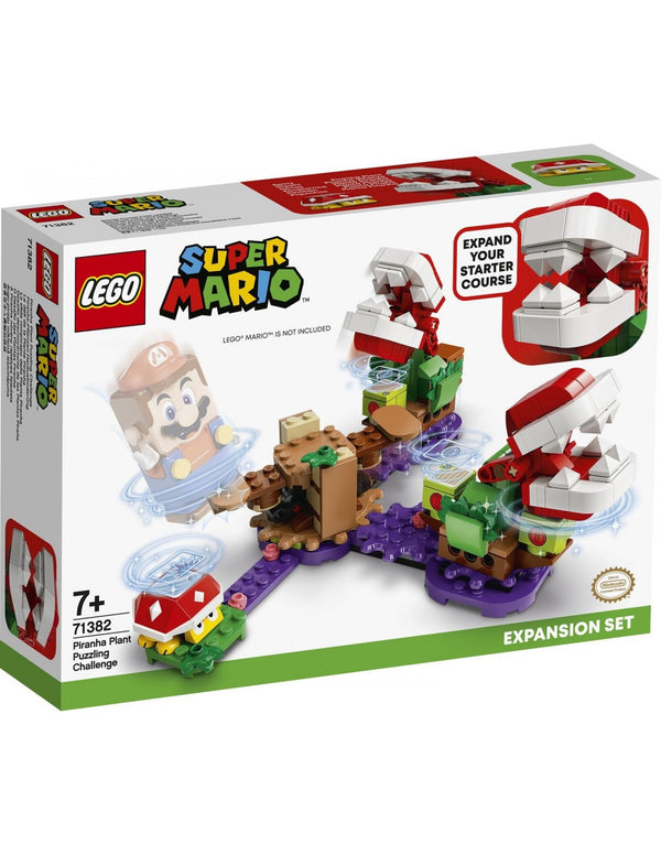 LEGO Super Mario: Piranha Plant Puzzling Challenge Expansion Set (71382)
