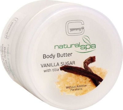 TG NAT SPA B BUTTER VANILLA & SUGAR 200ML TGSP3-VAN-F26