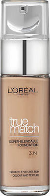 L'Oreal True Match Super Blendable Foundation 3N Beige Creme 30ml
