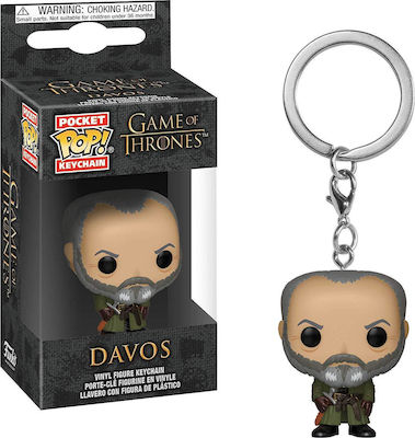 Pocket POP! Game of Thrones S10 - Davos Vinyl Figure Keychain ΦΙΓΟΥΡΑ ΝΤΑΒΟΣ ΜΠΡΕΛΟΚ