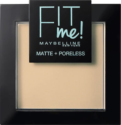 Maybelline Fit Me Matte & Poreless 110 Porcelain Πούδρα 8.5g