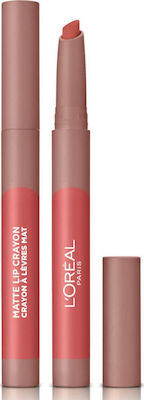 L'Oreal Matte Lip Crayon 105 Sweet and Salt-Μολύβι Χειλιών 1,3g