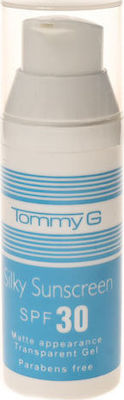 Tommy G SILKY SUNSCREEN FACE SPF30 50ml