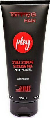 TG PLAY EXTRA STRONG GEL TUBE TG 200ML