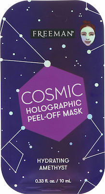 Freeman Cosmic Holographic Peel-off Mask Hydrating Amethyst 10ml Μασκα Προσωπου 47804