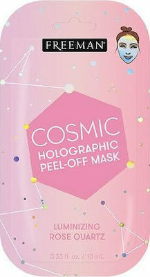 Freeman Cosmic Holographic Peel-off Mask Luminizing Rose Quartz 10ml Μασκα Προσωπου 47803