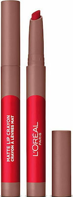 L'Oreal Matte Lip Crayon 111 Little Chili-Μολύβι Χειλιών 1,3g