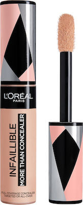 L'Oreal Infaillible More Than Concealer Για κάτω από τα Μάτια 329 Cashew 11ml