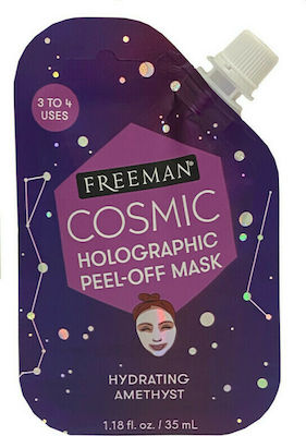 Freeman Cosmic Holographic Peel-Off Mask Hydrating Amethyst 35ml 48804