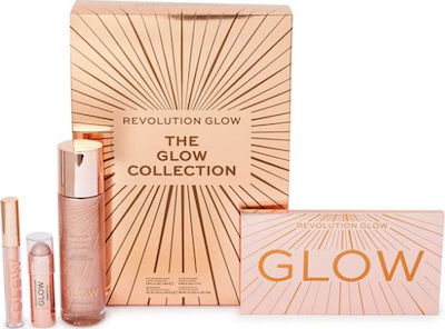 Revolution Beauty The Glow Collection Gift Set Σετ ΜΑΚΙΓΙΑΖ
