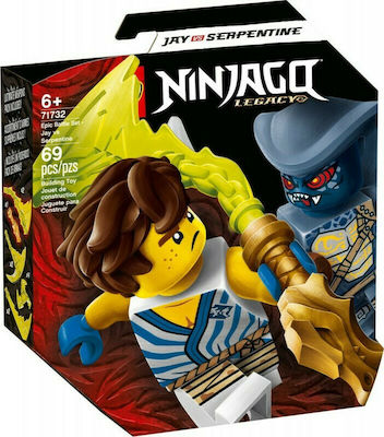 Lego Ninjago: Legacy Epic Battle Set Jay Vs Serpentine ΤΖΕΙ ΕΝΑΝΤΙΟΝ ΣΕΡΠΑΝΤΙΝΟΥ 71732