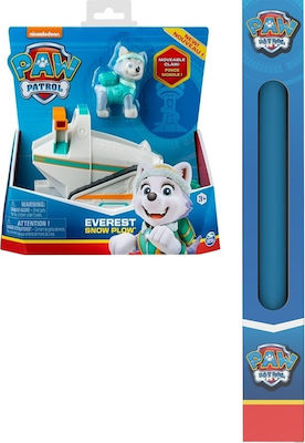 Paw Patrol: Everest Snow Plow Vehicle with Pup 20121010 για 3+ Ετών Spin Master