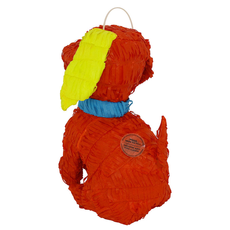 Lutema LTMRed Pup Pinata-274 Mexican Handcrafted