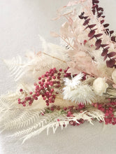 Load image into Gallery viewer, 'Be Mine' Everlasting White + Blush + Burgundy bouquet (+ vase add-on)