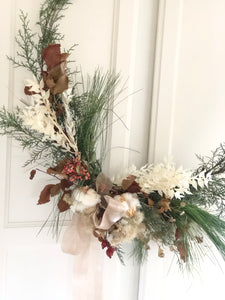 PRE-ORDER HOLIDAY: Wintergreen Wreath