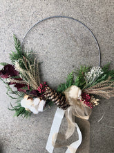 Load image into Gallery viewer, PRE-ORDER HOLIDAY: Wintergreen Wreath