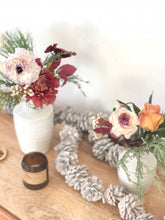 Load image into Gallery viewer, PRE-ORDER HOLIDAY: 'Trio' of sweet winter bud vases