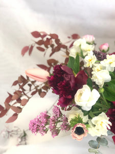 Bountiful hand-tied bouquet