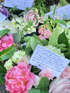 'Give back' bouquet for healthcare professionals