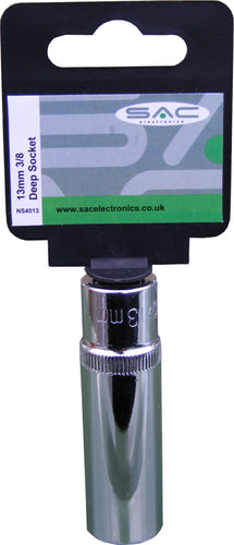 S.A.C. 13mm 3/8 (Deep) Socket