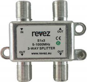 3 Way Passive Splitter