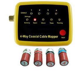4 Way Coaxial Cable Mapper