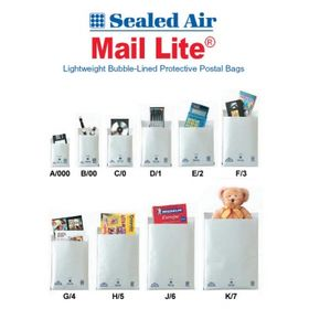 Mail Lite Padded Envelope White (D/1)
