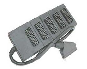 5 Way Scart Splitter