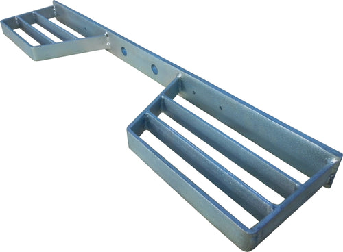 Double Tow bar STEP. Heavy Duty Galvanised